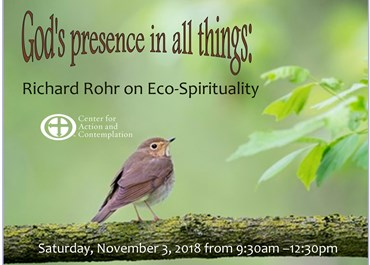>God's Presence in All Things- Richard Rohr on Eco-Spirituality