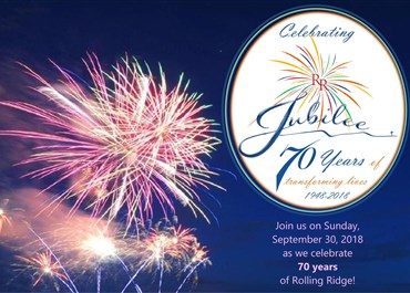 >Rolling Ridge 70th Anniversary Celebration
