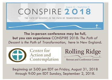 >CONSPIRE 2018: The Path of Descent is the Path of Transformation