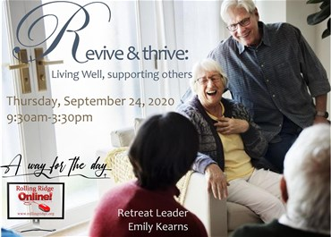 >Revive and Thrive: Living Well, Supporting Others
