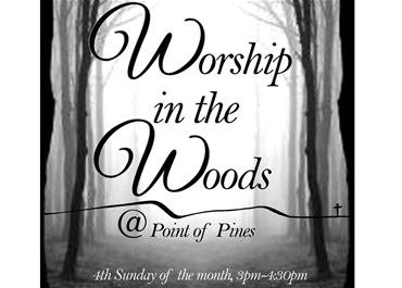 >Worship in the Woods- December